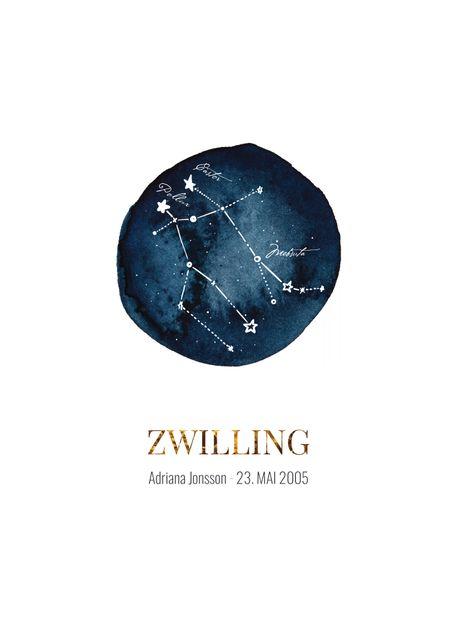 Zwilling (eigener text)