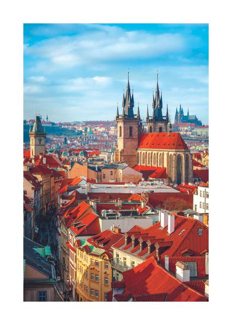 Prague, vertical