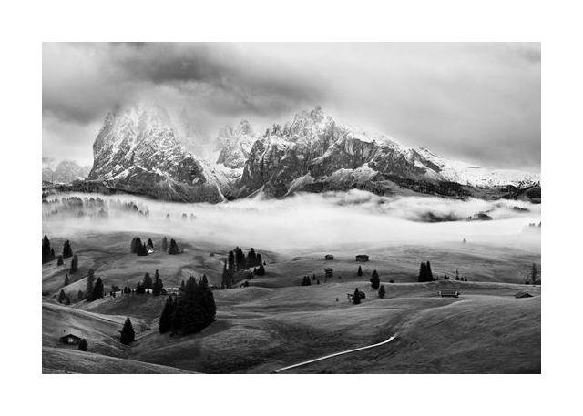 Foggy Dolomites