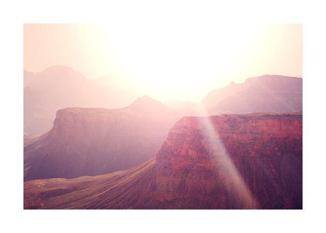 Landscape and sun