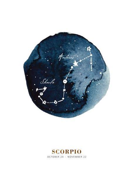 Zodiac Skorpion