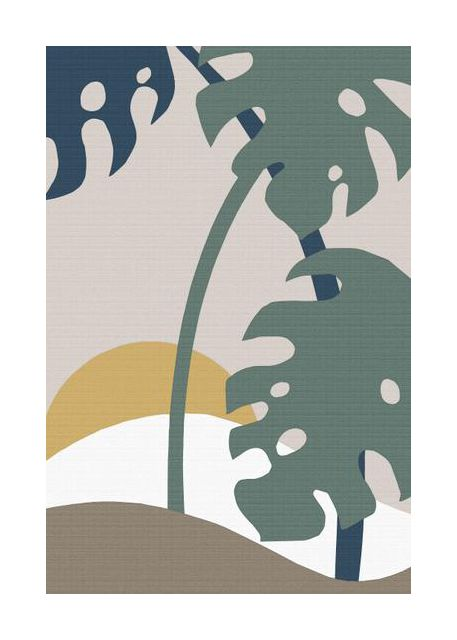 Monstera Cut Out 02