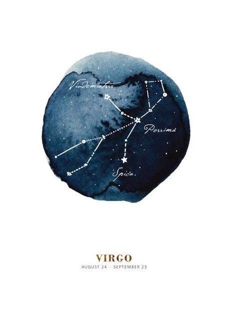Zodiac Jungfrau