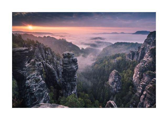 Sunrise on the Rocks