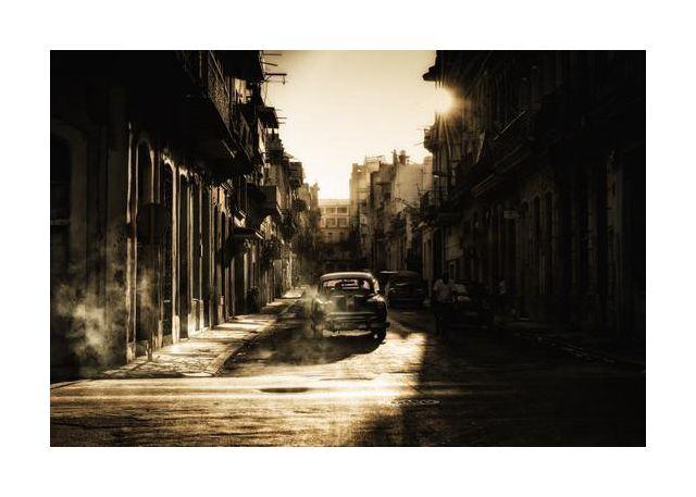 Mystic morning in Havana
