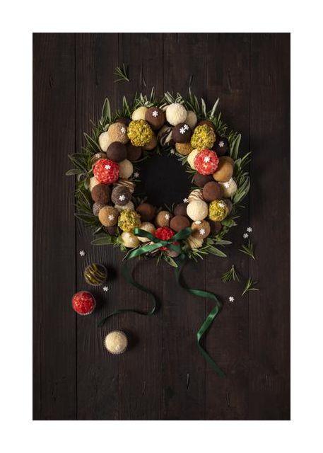 Truffles Christmas wreath