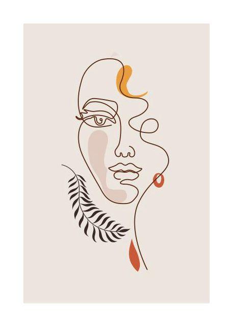 Art Line Face