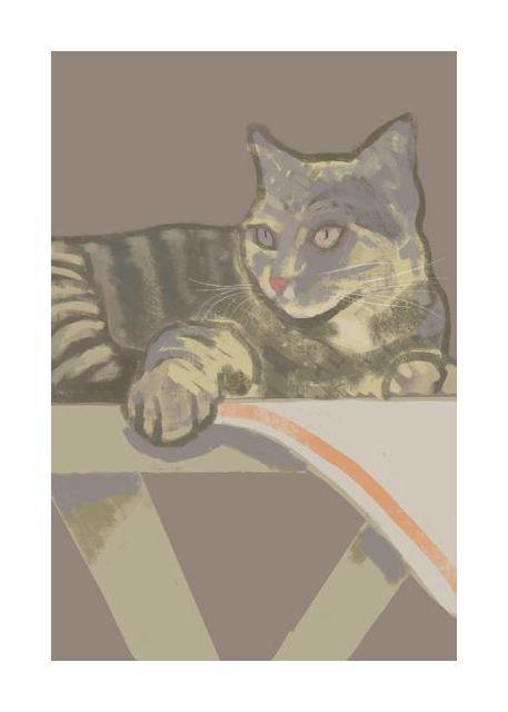 Hildur the cat by Ritlust
