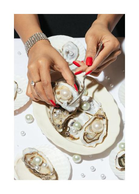 Oyster a Pearls No 01