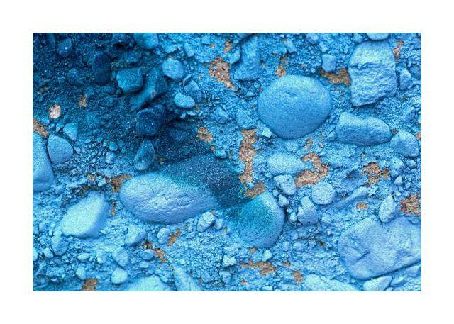 Blue cement