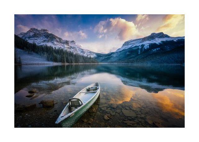 First Snow Emerald Lake